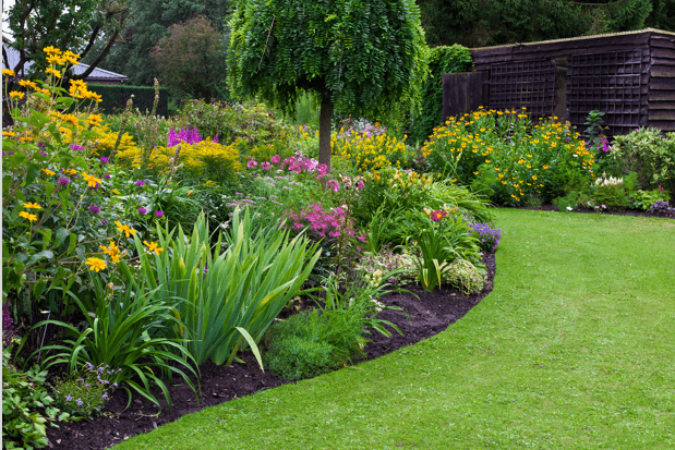 Landscaped areas